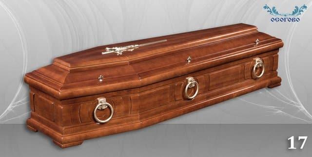 погребален ковчег 17