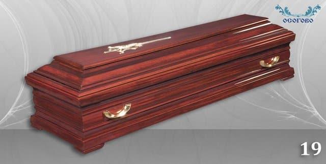 погребален ковчег 19
