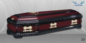 погребален ковчег 20