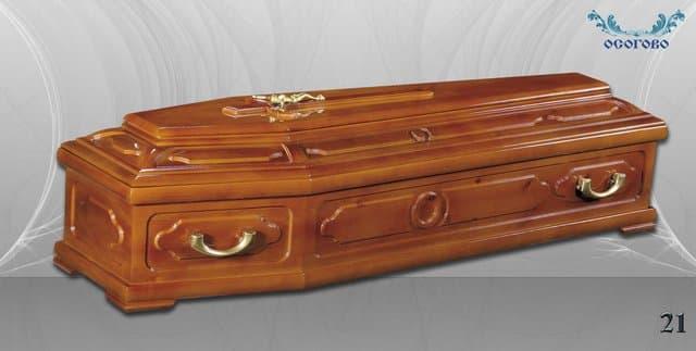 погребален ковчег 21