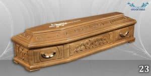 погребален ковчег 23