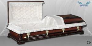 погребален ковчег 26 отворен