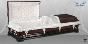 погребален ковчег 27 отворен