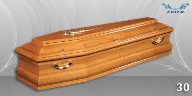 погребален ковчег 30