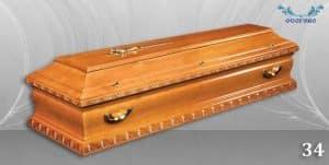 погребален ковчег 34