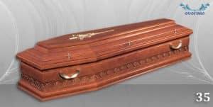 погребален ковчег 35