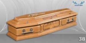 погребален ковчег 38