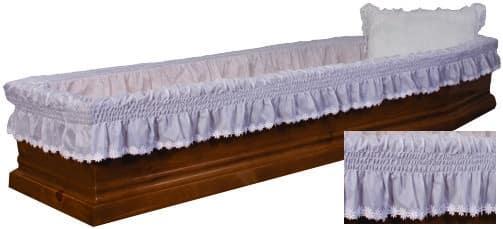 полиестерна драперия за ковчег